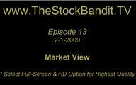 TSBTV#13 - Market View 2-1-2009