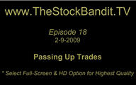 TSBTV#18 - Passing Up Trades