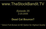 TSBTV#25 - Dead Cat Bounce?