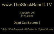 TSBTV#25 - Dead Cat Bounce?