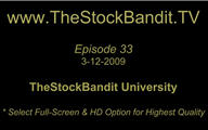 TSBTV#33 - TheStockBandit University