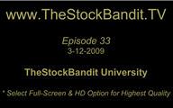 TSBTV#33 - TheStockBandit University