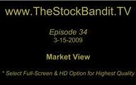 TSBTV#34 - Market View 3-15-2009