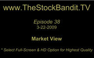 TSBTV#38 - Market View 3-22-2009