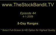 TSBTV#44 - Watching 8-Day Ranges