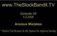 TSBTV#45 - Anxious Mistakes