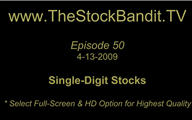 TSBTV#50 - Single Digit Stocks