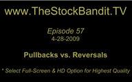 TSBTV#57 - Pullbacks vs. Reversals