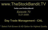 TSBTV#70 - Day Trade Management