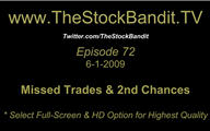 TSBTV#72 - Missed Trades and 2nd Chances