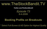 TSBTV#73 - Booking Profits on Breakouts