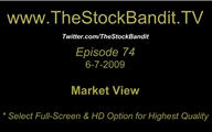 TSBTV#74 - Market View 6-7-2009