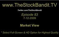 TSBTV#83 - Market View 7-12-2009