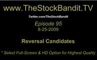 TSBTV#95 - Reversal Candidates