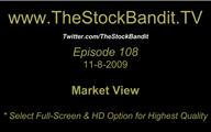 TSBTV#108 - Market View 11-8-2009