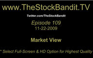 TSBTV#109 - Market View 11-22-2009