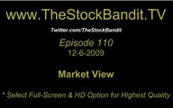 TSBTV#110 - Market View 12-6-2009