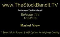 TSBTV#114 - Market View 1-10-2010