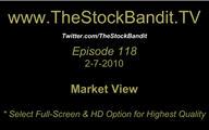 TSBTV#118 - Market View 2-7-2010