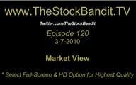 TSBTV#120 - Market View 3-7-2010