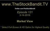 TSBTV#121 - Market View 3-14-2010
