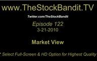 TSBTV#122 - Market View 3-21-2010