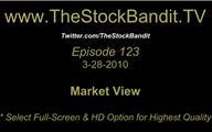 TSBTV#123 - Market View 3-28-2010