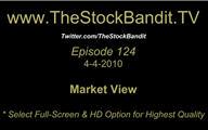 TSBTV#124 - Market View 4-4-2010