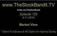 TSBTV#125 - Market View 4-11-2010