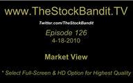 TSBTV#126 - Market View 4-18-2010