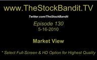 TSBTV#130 - Market View 5-16-2010