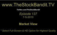 TSBTV#137 - Market View 7-5-2010