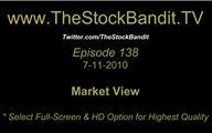 TSBTV#138 - Market View 7-11-2010