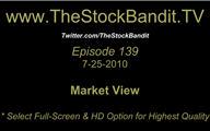 TSBTV#139 - Market View 7-25-2010