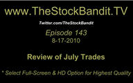 TSBTV#143 - July Trades