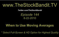 TSBTV#144 - Using Moving Averages