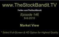 TSBTV#146 - Market View 9-6-2010