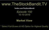 TSBTV#150 - Market View 10-10-2010