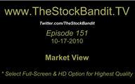 TSBTV#151 - Market View 10-17-2010