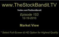 TSBTV#153 - Market View 12-19-2010